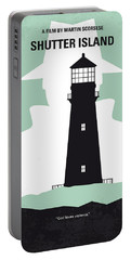 No513 My Shutter Island Minimal Movie Poster Portable Battery Charger