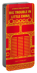 No515 My Big Trouble In Little China Minimal Movie Poster Portable Battery Charger
