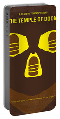 No517 My The Temple Of Doom Minimal Movie Poster Portable Battery Charger