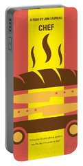 No524 My Chef Minimal Movie Poster Portable Battery Charger