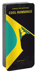 No538 My Cool Runnings Minimal Movie Poster Portable Battery Charger