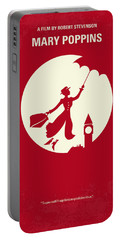 No539 My Mary Poppins Minimal Movie Poster Portable Battery Charger