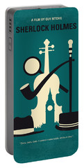 No555 My Sherlock Holmes Minimal Movie Poster Portable Battery Charger