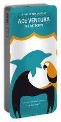 No558 My Ace Ventura Minimal Movie Poster Portable Battery Charger
