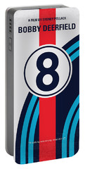 No565 My Bobby Deerfield Minimal Movie Poster Portable Battery Charger