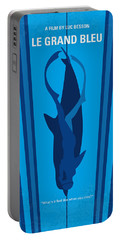 No577 My Big Blue Minimal Movie Poster Portable Battery Charger