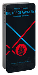 No591 My Star Wars Episode Vii The Force Awakens Minimal Movie Poster Portable Battery Charger