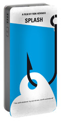 No625 My Splash Minimal Movie Poster Portable Battery Charger