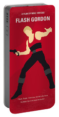No632 My Flash Gordon Minimal Movie Poster Portable Battery Charger