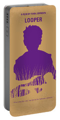 No636 My Looper Minimal Movie Poster Portable Battery Charger