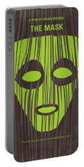 No647 My The Mask Minimal Movie Poster Portable Battery Charger