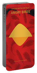 No658 My Angry Birds Movie Minimal Movie Poster Portable Battery Charger
