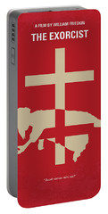 No666 My The Exorcist Minimal Movie Poster Portable Battery Charger
