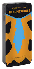 No669 My The Flintstones Minimal Movie Poster Portable Battery Charger