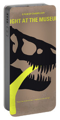 No672 My Night At The Museum Minimal Movie Poster Portable Battery Charger