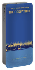 No686-1 My Godfather I Minimal Movie Poster Portable Battery Charger