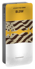 No693 My Blow Minimal Movie Poster Portable Battery Charger