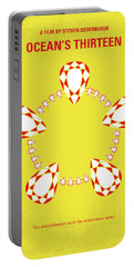 No706 My Oceans 13 Minimal Movie Poster Portable Battery Charger