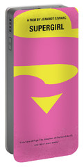 No720 My Supergirl Minimal Movie Poster Portable Battery Charger