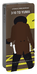 No726 My 310 To Yuma Minimal Movie Poster Portable Battery Charger