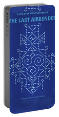 Portable Battery Charger featuring the digital art No764 My The Last Airbender Minimal Movie Poster by Chungkong Art