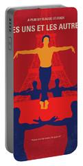 No771 My Les Uns Et Les Autres Minimal Movie Poster Portable Battery Charger