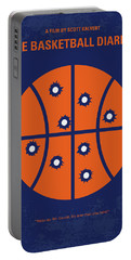 No782 My The Basketball Diaries Minimal Movie Poster Portable Battery Charger