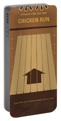 No789 My Chicken Run Minimal Movie Poster Portable Battery Charger