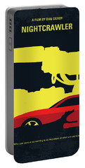 No794 My Nightcrawler Minimal Movie Poster Portable Battery Charger