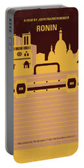 No801 My Ronin Minimal Movie Poster Portable Battery Charger