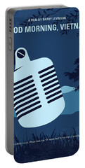 No811 My Good Morning Vietnam Minimal Movie Poster Portable Battery Charger