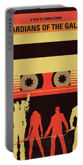 No812 My Guardians Of The Galaxy Minimal Movie Poster Portable Battery Charger