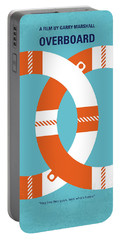 No815 My Overboard Minimal Movie Poster Portable Battery Charger