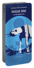 No819 My Rogue One Minimal Movie Poster Portable Battery Charger