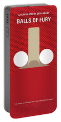 No822 My Balls Of Fury Minimal Movie Poster Portable Battery Charger
