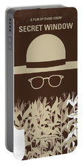 No830 My Secret Window Minimal Movie Poster Portable Battery Charger