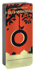 No844 My To Kill A Mockingbird Minimal Movie Poster Portable Battery Charger