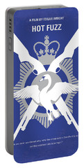 No847 My Hot Fuzz Minimal Movie Poster Portable Battery Charger