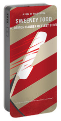 No849 My Sweeney Todd Minimal Movie Poster Portable Battery Charger