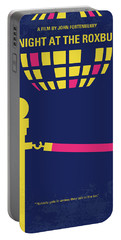 No864 My A Night At The Roxbury Minimal Movie Poster Portable Battery Charger