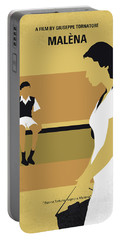 No870 My Malena Minimal Movie Poster Portable Battery Charger