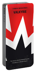 No876 My Valkyrie Minimal Movie Poster Portable Battery Charger