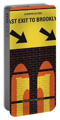 No879 My Last Exit To Brooklyn Minimal Movie Poster Portable Battery Charger