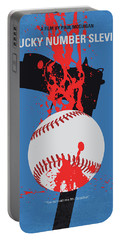 No880 My Lucky Number Slevin Minimal Movie Poster Portable Battery Charger