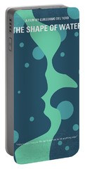 No902 My The Shape Of Water Minimal Movie Poster Portable Battery Charger