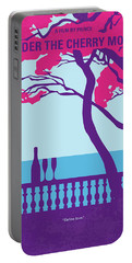No933 My Under The Cherry Moon Minimal Movie Poster Portable Battery Charger