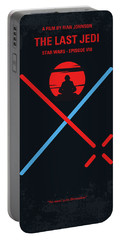 No940 My Star Wars Episode Viii The Last Jedi Minimal Movie Poster Portable Battery Charger