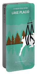 No944 My Lake Placid Minimal Movie Poster Portable Battery Charger