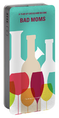 No951 My Bad Moms Minimal Movie Poster Portable Battery Charger
