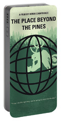 No954 My The Place Beyond The Pines Minimal Movie Poster Portable Battery Charger